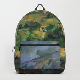 """Paul Cezanne """"Montagne Sainte-Victoire.Vue des Lauves"""" Backpack"""