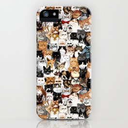 Catmina Project iPhone Case