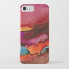 Sunset Bloom iPhone Case
