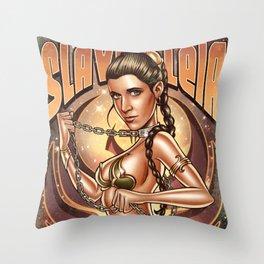 Slave Leia Throw Pillow