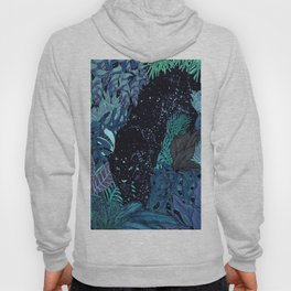 The Jungle at Night Colour Version Hoody