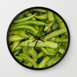 Chinese Vegetables Wall Clock