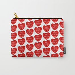 World heart day Carry-All Pouch