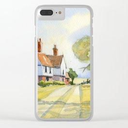 Country Cottage in Kentucky Clear iPhone Case