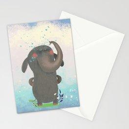 An elephant. Stationery Cards