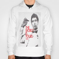 scarface Hoodies featuring SCARFACE by I Love Decor