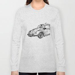 Beetle Lino Print Long Sleeve T-shirt