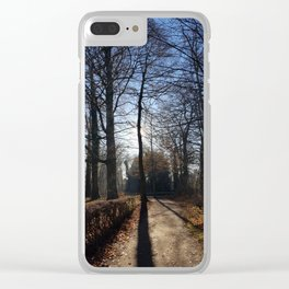 Contrast Makes Perfect Clear iPhone Case
