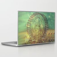 ferris wheel Laptop & iPad Skins featuring Ferris Wheel by Creative Vibe