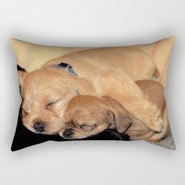 'Puppy Love' Rectangular Pillow
