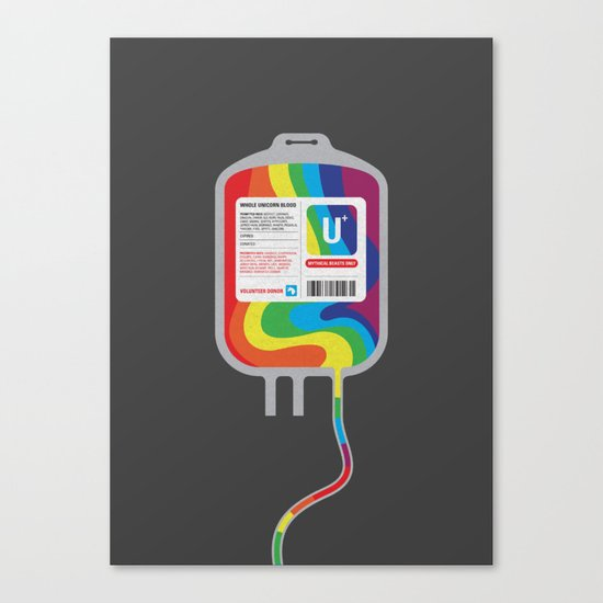Fairytale Transfusion Canvas Print