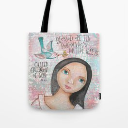 Peacemaker by patsy paterno Tote Bag