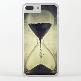 Clepsidra Clear iPhone Case