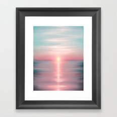 Sea of Love Framed Art Print