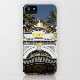 Las Palmas Cafe iPhone Case