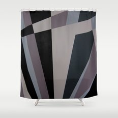 Razzle Dazzle Camouflage Graphic Art Shower Curtain