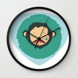 Sad Monkey-Bear Wall Clock
