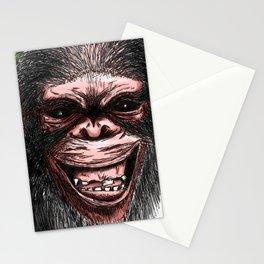 CRAZY MONKEY Stationery Cards