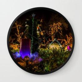 Christmas colors Wall Clock