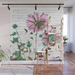 The Flower of Life - Free Hand Calligraphy! Wall Mural