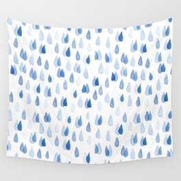 RAINDROPS Wall Tapestry