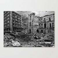 war Canvas Prints featuring War by Shazer Simin
