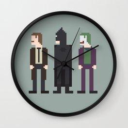 The Dark Knight 8-Bit Wall Clock