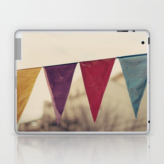 Flags (Vintage and retro photopgraphy) Laptop & iPad Skin