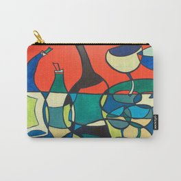 Abstract Wine Carry-All Pouch