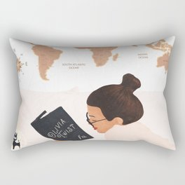 Good Read 03 Rectangular Pillow