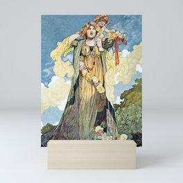 """Summer"" by Charles Robinson Mini Art Print"