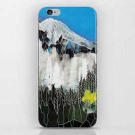 The Snow Line iPhone Skin