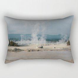 Rotorua Laughing Gas Pool Rectangular Pillow