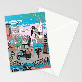Fine city - Norwich Stationery Cards