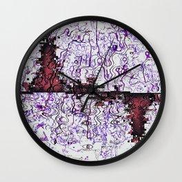 Aethereal Interchange Wall Clock