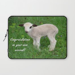 Congratulations On Your New Arrival Laptop Sleeve