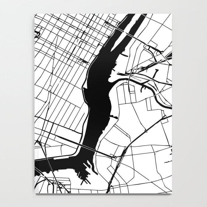 New York City Minimal Map Notebook