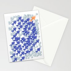 100 fishes Stationery Cards