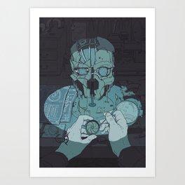 DH: Mask Art Print