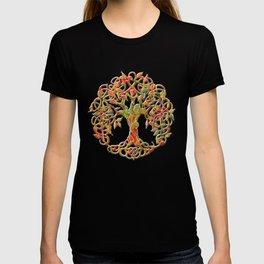 Tree of Life Maroon T-shirt