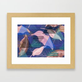 Funky Island Vibe Framed Art Print