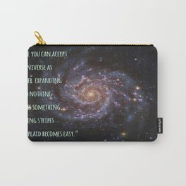 Einstein's Unified Fashion Theory Carry-All Pouch