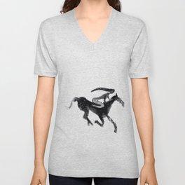 Horse girl Unisex V-Neck