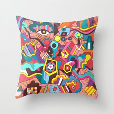 Schema 18 Throw Pillow