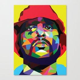 Schoolboy Q Pop Art Canvas Print