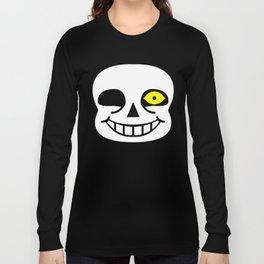 Sans Skull Bad Time Long Sleeve T-shirt