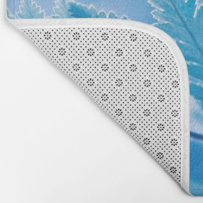 Winter Trees Bath Mat