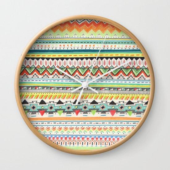 Pattern No.3 Wall Clock