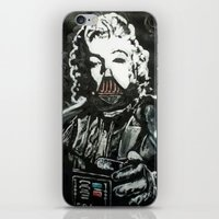 death star iPhone & iPod Skins featuring Death Star by Matt Pecson