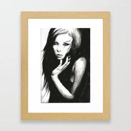 Darkness Enfold Me Framed Art Print